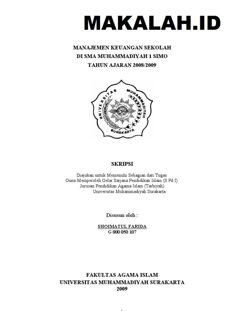 14 Kumpulan Judul Skripsi Audit Internal
