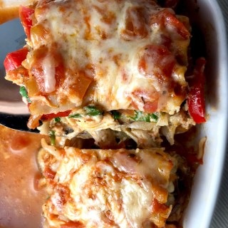 Chicken and Veggie Lasagna