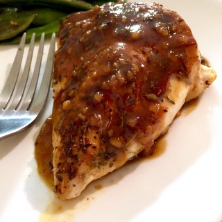 Orange Dijon Honey Glazed Chicken