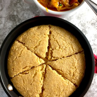 Whole Grain Skillet Cornbread