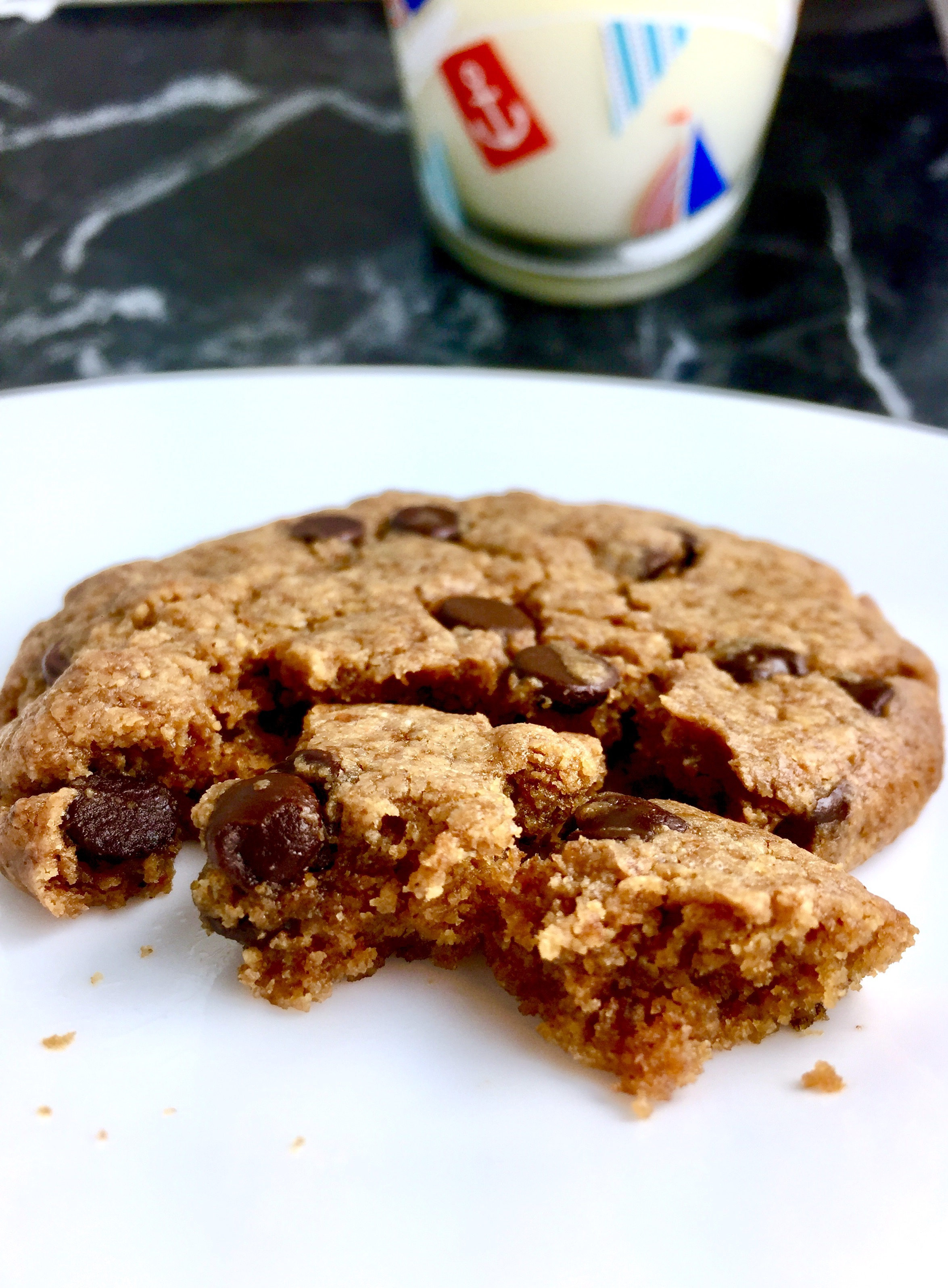 Ultimate Soft Peanut Butter Chocolate Chip Cookies {with Coconut Oil}
