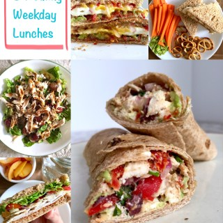 Weekday Eats: 5 Healthy Lunch Ideas!