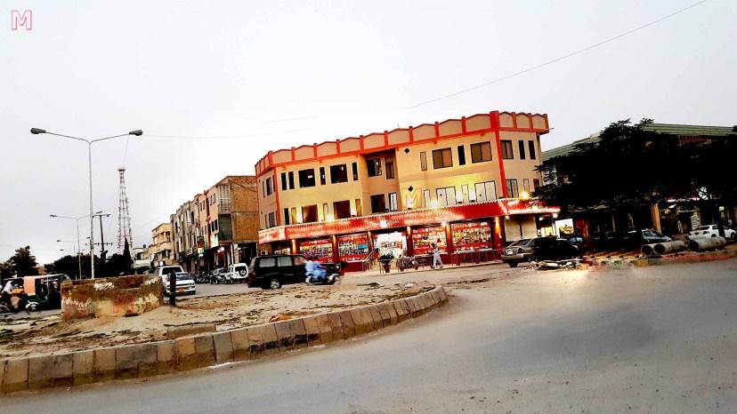Jinnah town commercial area