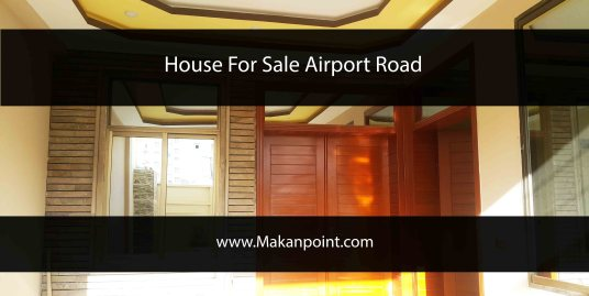 House for sale at airport road