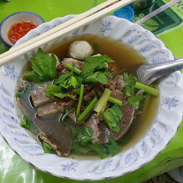 Kobe Beef noodle 😋 on clear soup 👌🏻(Rai Tiem Tan noodle