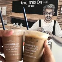 Coffee time... @kongdjie.joglo Ice Panda Coffee so refreshing 😍 pas cuaca puanassss pol 🌞😎 Kong Djie Coffee Joglo Jl Joglo Raya, Jakarta ⏰: 7AM - 9PM 💰: Rp20rb