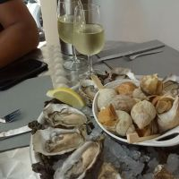 Who loves Oysters n Whelk? Eating Seafood in Cannes Marche Forville 😍  Read also