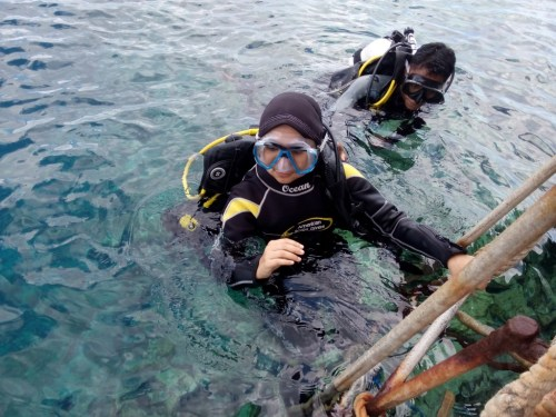 diving, wakatobi