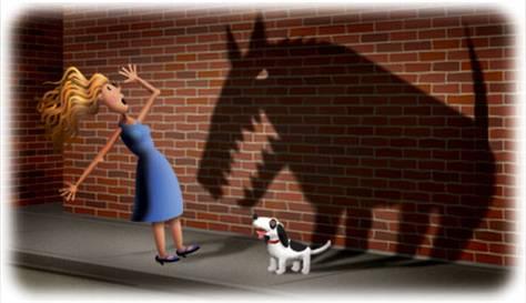 cynophobia, fobia, takut, anjing
