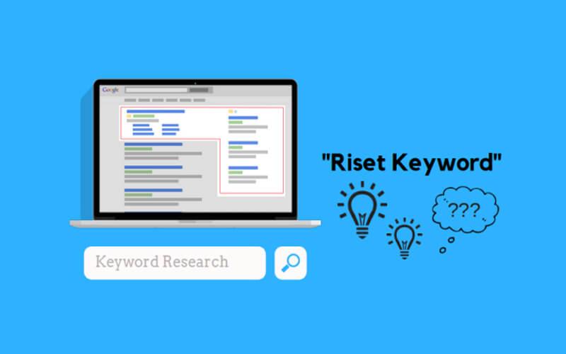 Jangan lupakan riset keyword
