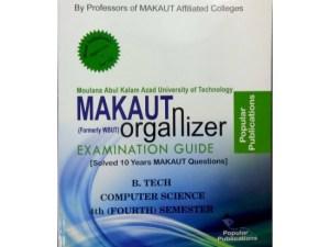 CSE 4th Semester (WBUT) Makaut Organizer Guide Book