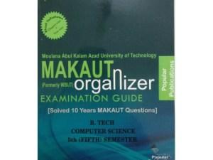 CSE 5th Semester (WBUT) Makaut Organizer Guide Book