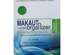 CIVIL 4th Semester (WBUT) Makaut Organizer Guide Book