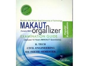 CIVIL 6th Semester (WBUT) Makaut Organizer Guide Book