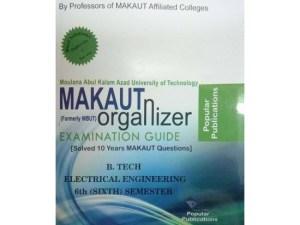 EE 6th Semester (WBUT) Makaut Organizer Guide Book