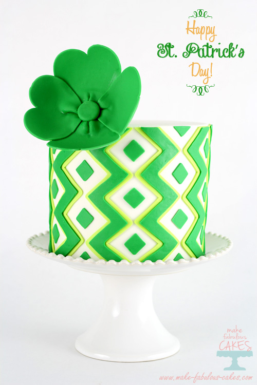 St Patrick S Day Lime Cake