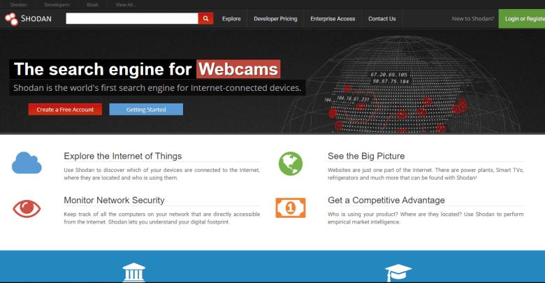 Shodan - поисковая система для хакера