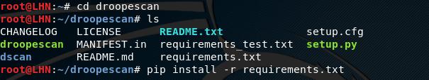 Установка инструмента сканирования сайта