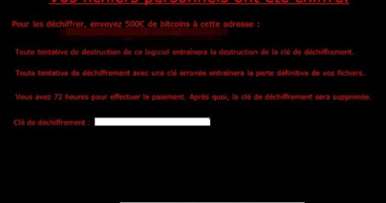 Virobot ransomware считывает нажатия клавиатуры