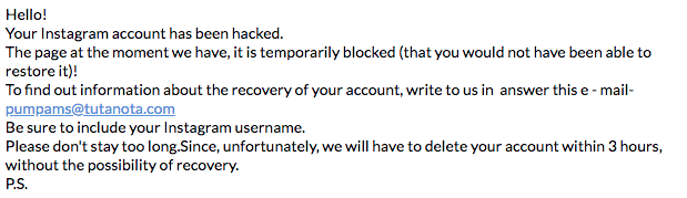 Сообщение от хакеров пользователям