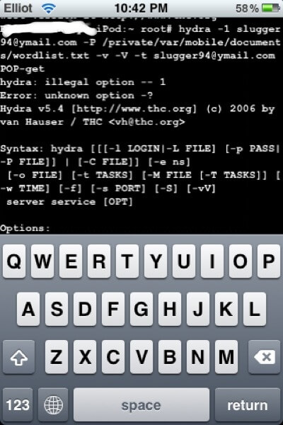 Приложения для хакеров на iOS