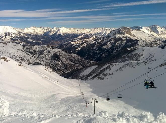Depuis Nice Skier La Foux DAllos