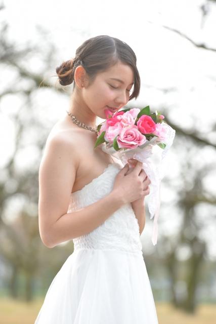 20代の脱毛を終えた花嫁