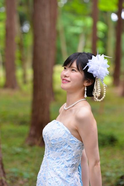ミュゼで脱毛した花嫁