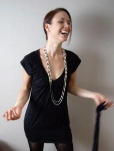 Starling Knit Beaded Necklace Pattern • make ad lib