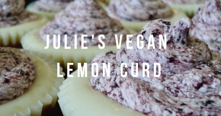Julie's Vegan Lemon Curd