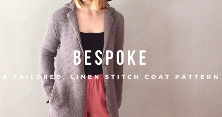 Bespoke Knitted Coat Pattern