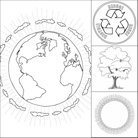 we 39 ve got your earth day coloring pages make and takes