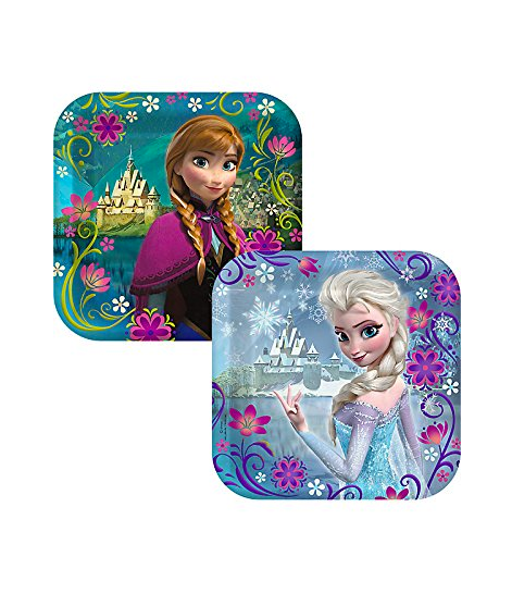 Frozen Plates and Cups for a party