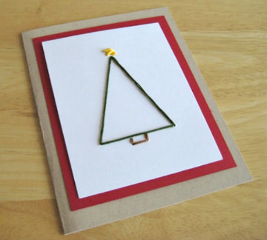 Christmas Tree Card Pattern Make And Takes