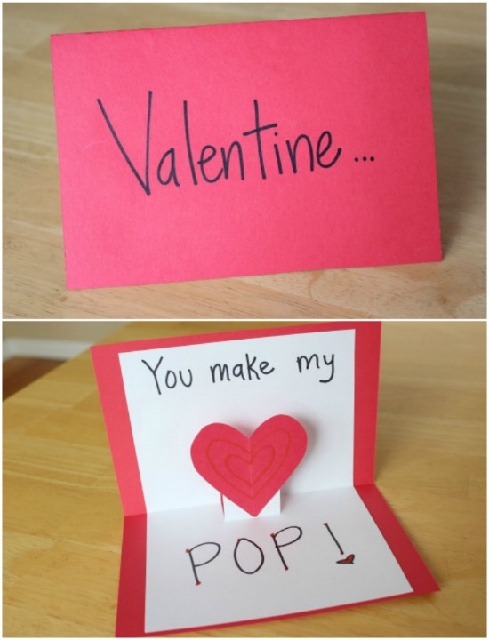 Valentine Cards That Make Your Heart POP Make And Takes