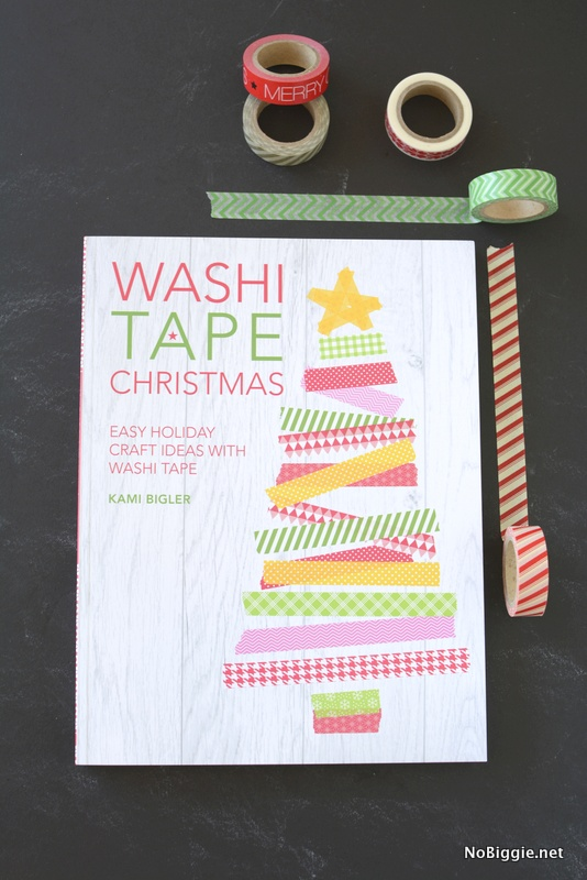 Washi Tape Christmas Book Review Make And Takes