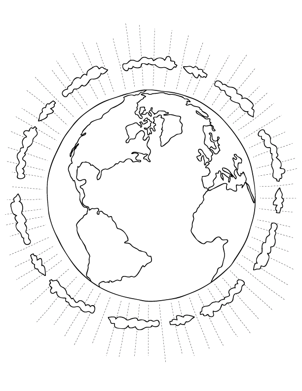 earth day coloring pages make and takes