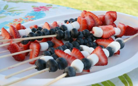 Holiday Fruit Kabobs