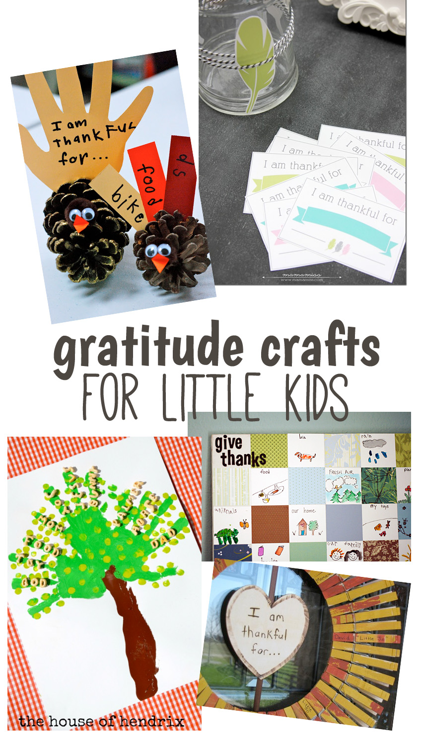 10 Creative Gratitude Crafts For Big And Little Kids