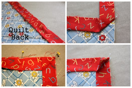 Fast Machine Quilt Binding 101 - Diary of a Quilter - a quilt blog : applying quilt binding - Adamdwight.com