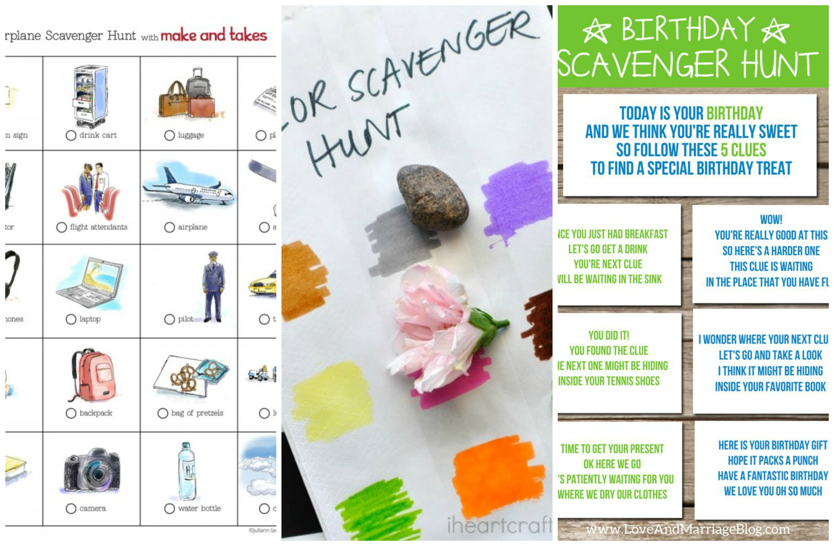 9 Now Ideas Scavenger Hunt Ideas For Kids Make And Takes