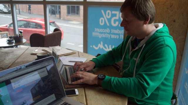 Kimb Jones planning a WordPress Sheffield meetup