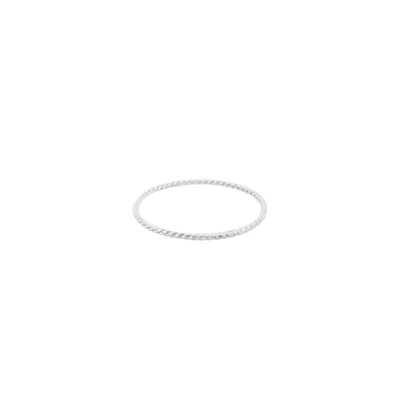 comprar anillo twist plata