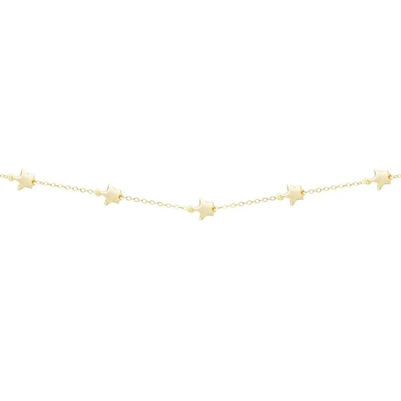Collar mini estrellas en oro