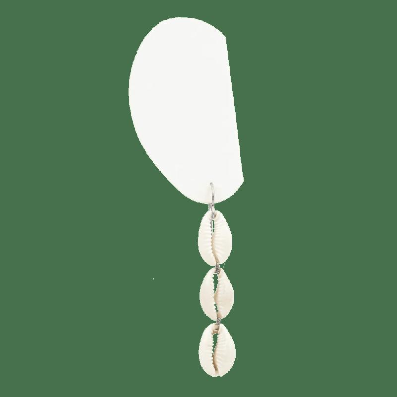 Pendientes de concha largos