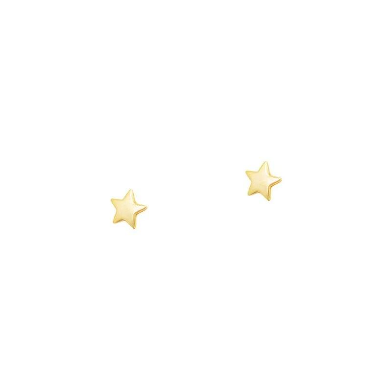 pendientes mini estrella