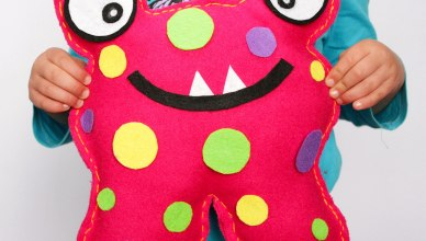 How to Make a Softie Monster (Sew a Softie Day)