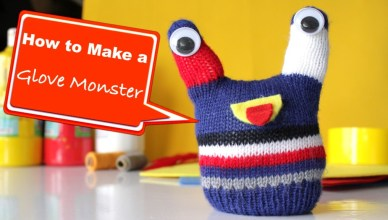 How to Make a Glove Monster