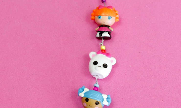 How to Make a Lalaloopsy Charm Bracelet