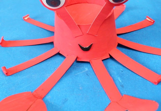 How to Make a Paper Cup Crab